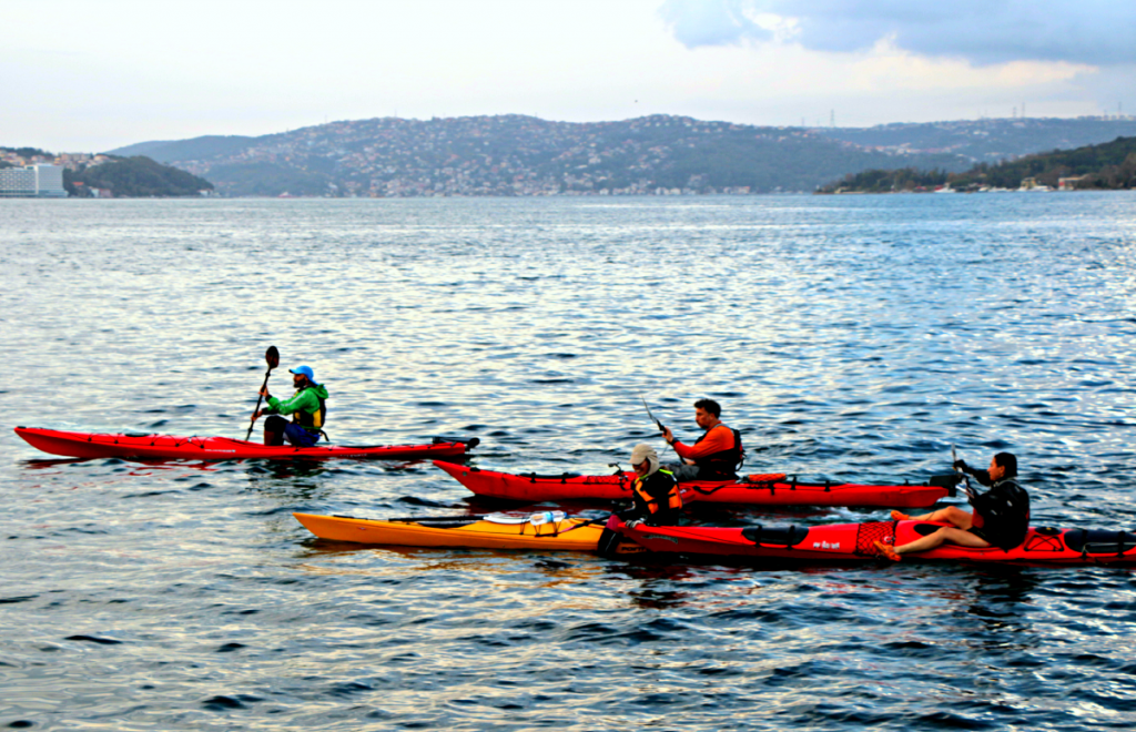 Sea kayakers προπονούνται για BCU3