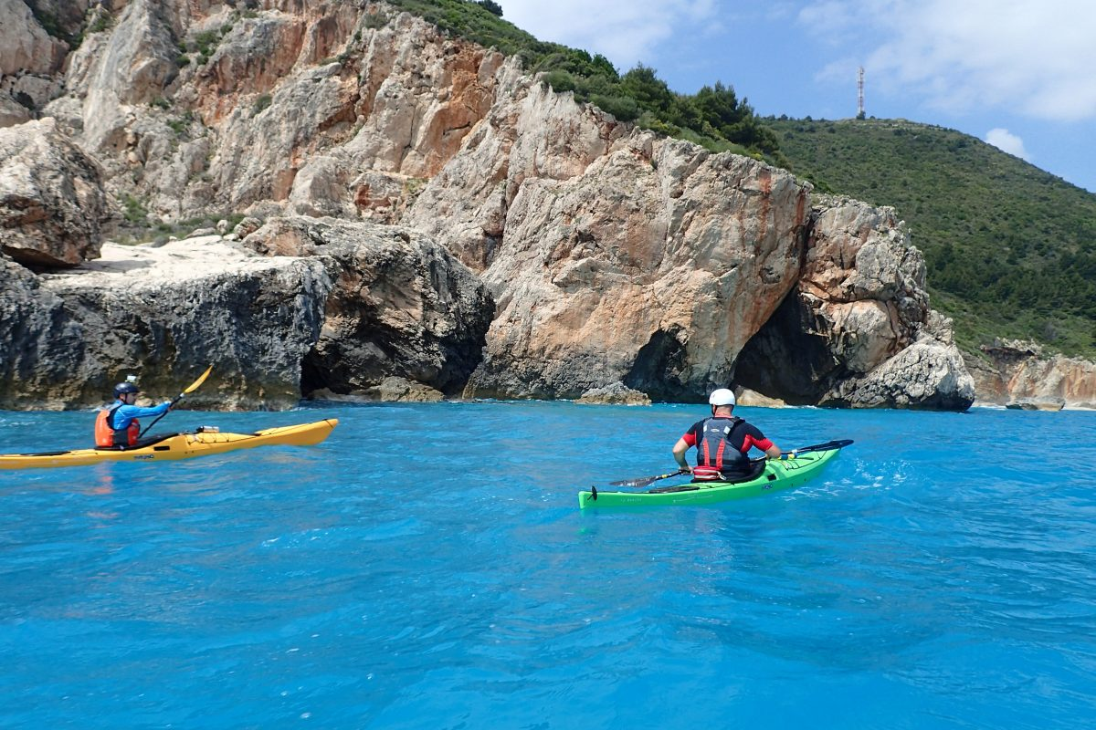 Sea Kayak Training Greece