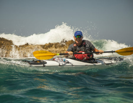 BC Sea Kayak Course at Kefalonia